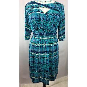 NWOT Avenue twist from keyhole dress (22/24)